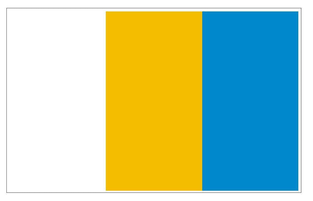 KRAPKOWICE Vinyl International Flag DECAL Sticker MADE IN THE USA F262 - Winter Park Products
