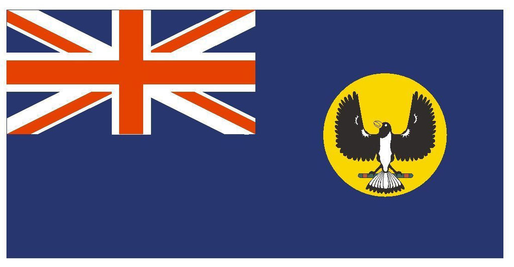 SOUTH AUSTRALIA Vinyl International Flag DECAL Sticker MADE IN THE USA F470 - Winter Park Products