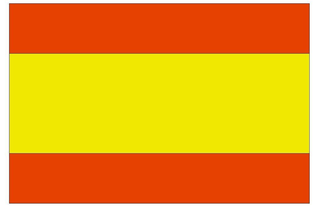 SPAIN Vinyl International Flag DECAL Sticker MADE IN THE USA F478 - Winter Park Products
