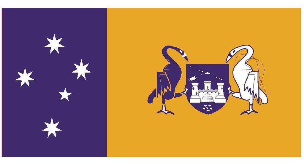 AUSTRALIAN CAPITAL Flag Vinyl International Flag DECAL Sticker MADE IN USA F39 - Winter Park Products