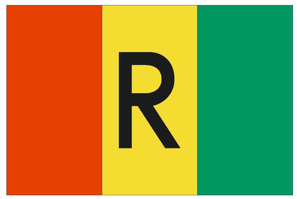 RWANDA Vinyl International Flag DECAL Sticker MADE IN THE USA F427 - Winter Park Products