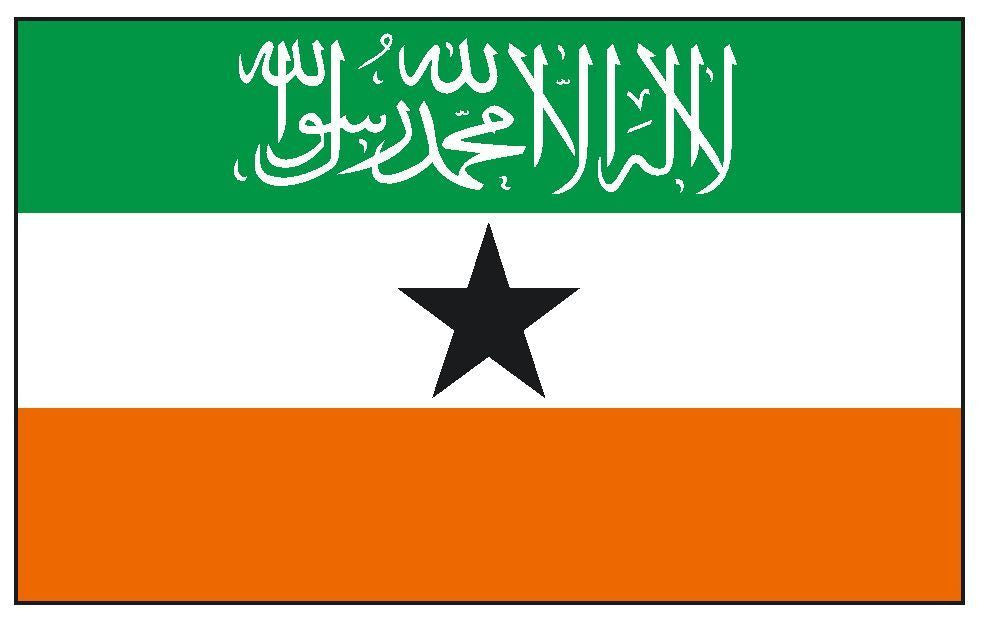 SOMALILAND Vinyl International Flag DECAL Sticker MADE IN THE USA F464 - Winter Park Products