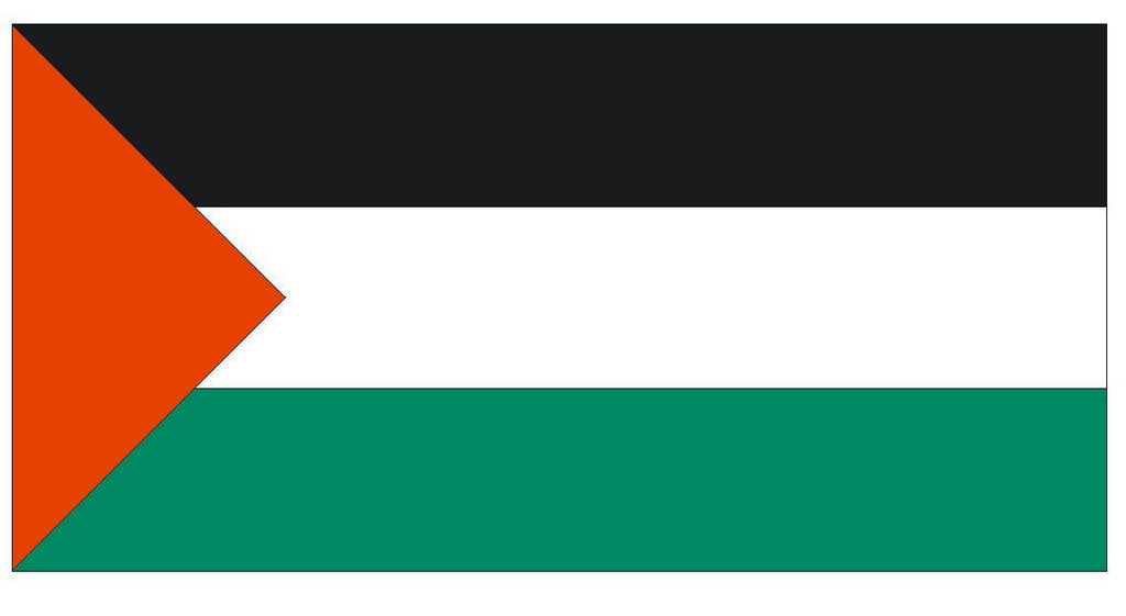 PALESTINE Vinyl International Flag DECAL Sticker MADE IN THE USA F383 - Winter Park Products