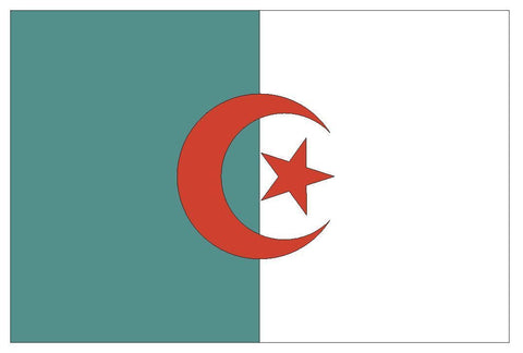 ALGERIA Flag Vinyl International Flag DECAL Sticker MADE IN USA F19 - Winter Park Products