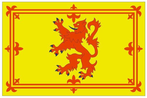 SCOTLAND Vinyl International Flag DECAL Sticker MADE IN THE USA F447 - Winter Park Products