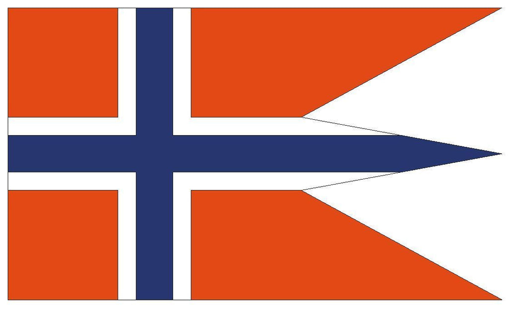 NORWAY Vinyl International Flag DECAL Sticker MADE IN USA F365 - Winter Park Products