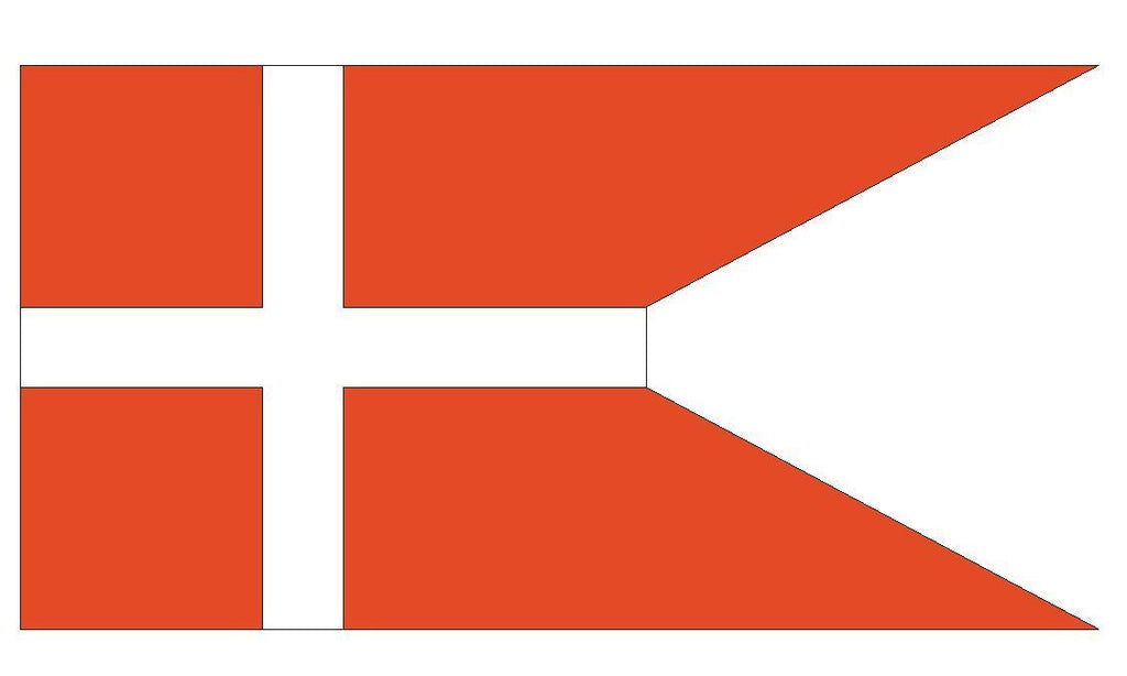 DENMARK Vinyl International Flag DECAL Sticker MADE IN THE USA F133 - Winter Park Products