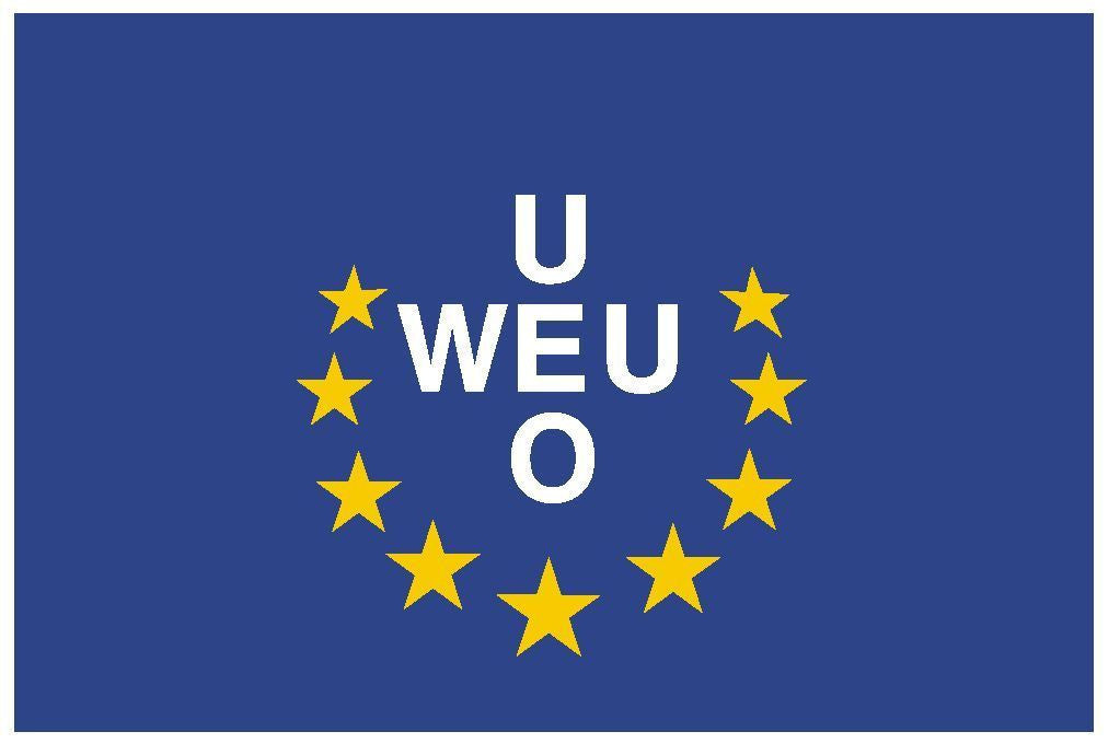 Western Europe Union Vinyl International Flag DECAL Sticker MADE IN THE USA F553 - Winter Park Products
