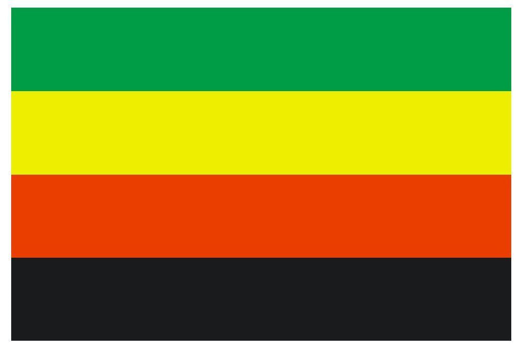 BAMILEKE MOVEMENT Flag Vinyl International Flag DECAL Sticker MADE IN USA F47 - Winter Park Products