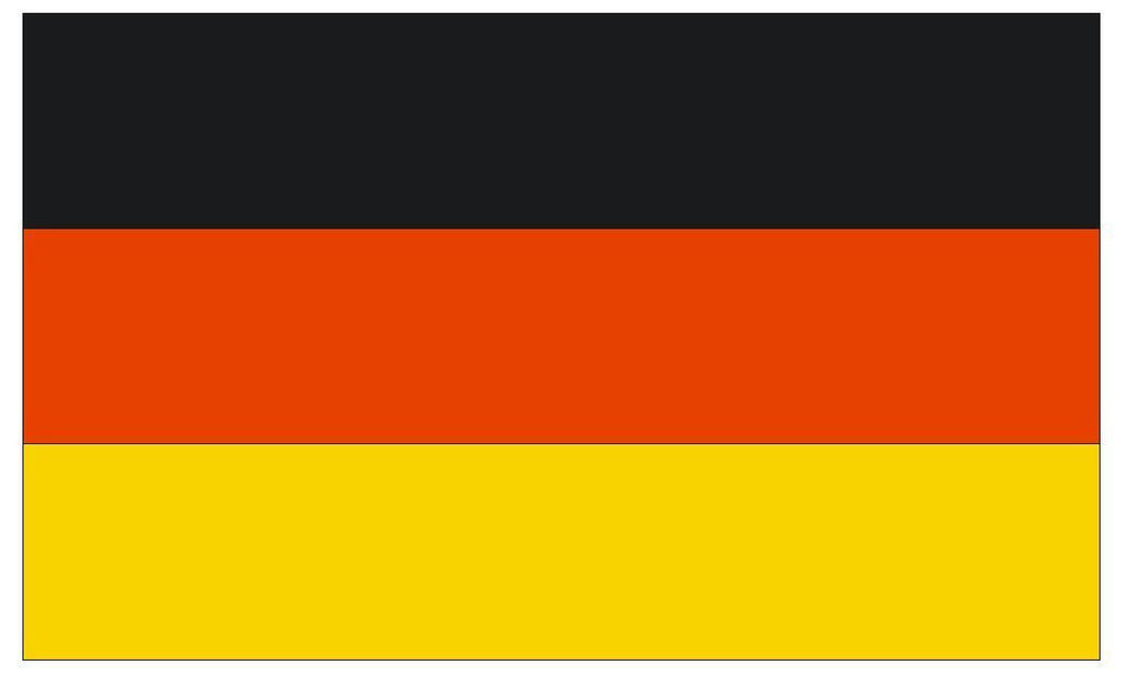 GERMANY Vinyl International Flag DECAL Sticker MADE IN THE USA F190 - Winter Park Products