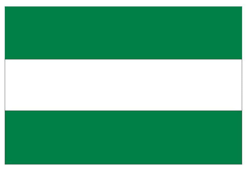 ANDALUSIA ANDALUCIA Flag Vinyl International Flag DECAL Sticker MADE IN USA F22 - Winter Park Products