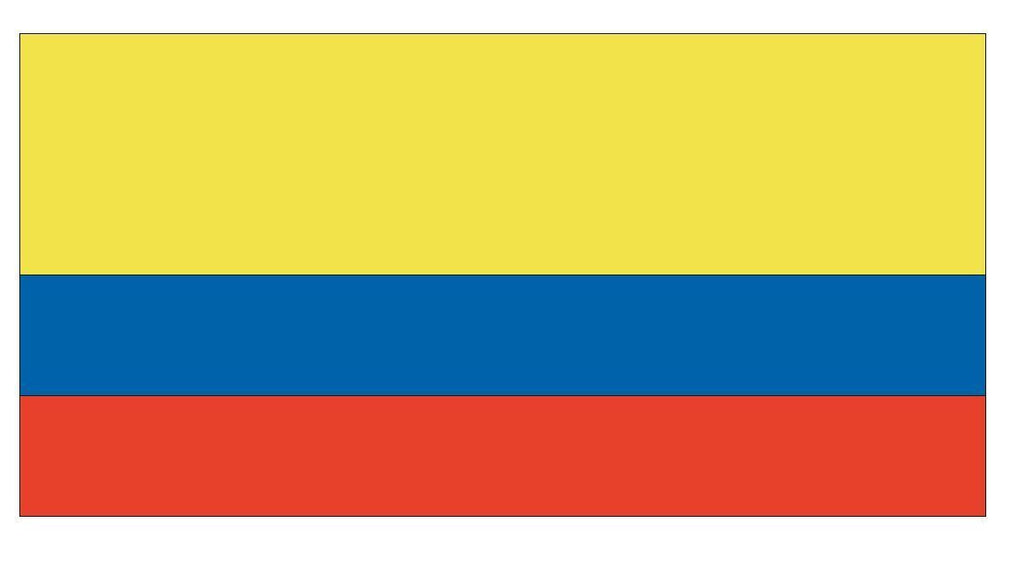 ECUADOR Vinyl International Flag DECAL Sticker MADE IN THE USA F146 - Winter Park Products
