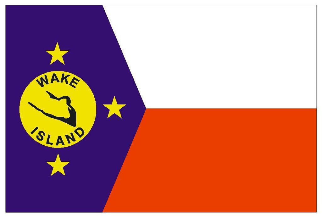 WAKE Vinyl International Flag DECAL Sticker MADE IN THE USA F545 - Winter Park Products