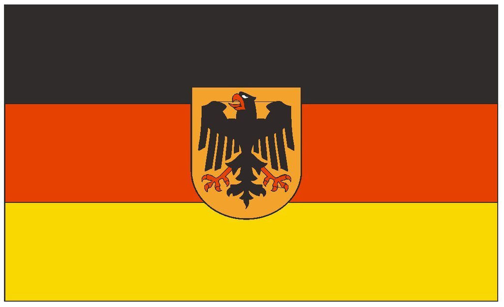 GERMANY Vinyl International Flag DECAL Sticker MADE IN THE USA F191 - Winter Park Products
