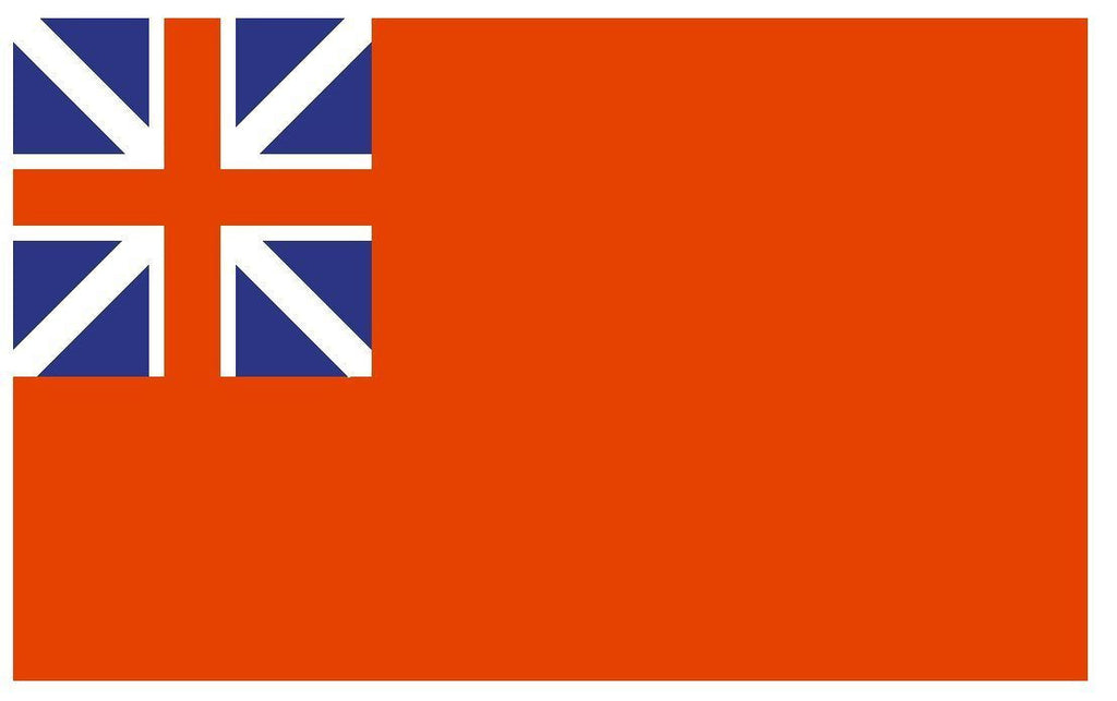 BRITISH RED ENSIGN Flag Vinyl International Flag DECAL Sticker MADE IN USA F70 - Winter Park Products