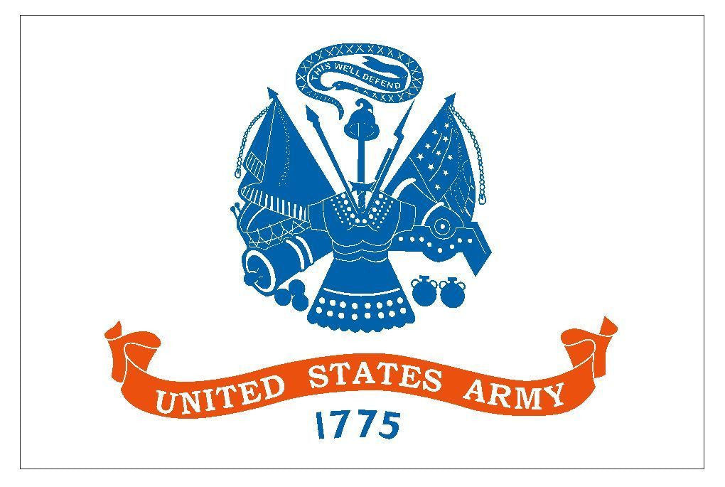 United States Army Vinyl Military Flag DECAL Sticker MADE IN THE USA F587 - Winter Park Products