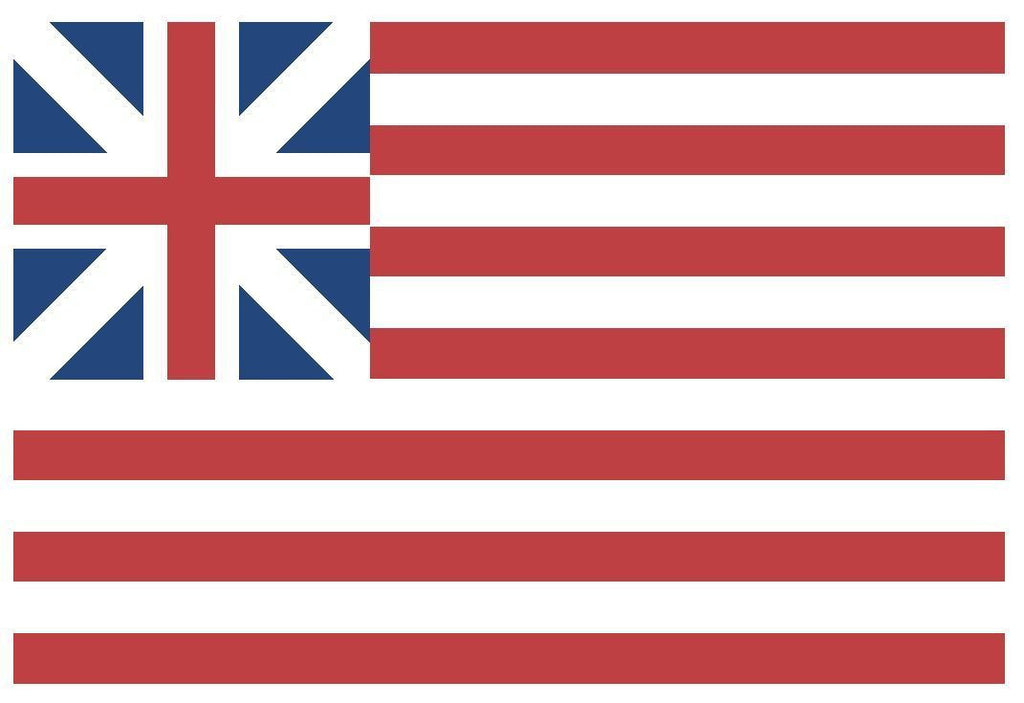 GRAND UNION Vinyl International Flag DECAL Sticker MADE IN THE USA F194 - Winter Park Products