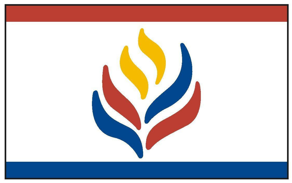 LEARNING AND LIBERTY Vinyl International Flag DECAL Sticker MADE IN THE USA F273 - Winter Park Products