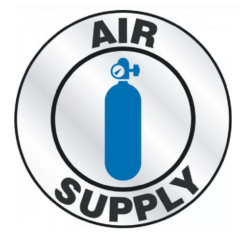 Air Supply Hard Hat Decal Hardhat Sticker Helmet Label H136 - Winter Park Products
