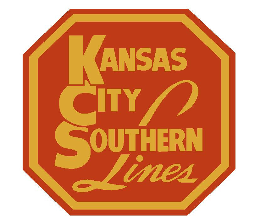 Kansas City Southern Line Railway Railroad Sticker R501 - Winter Park Products