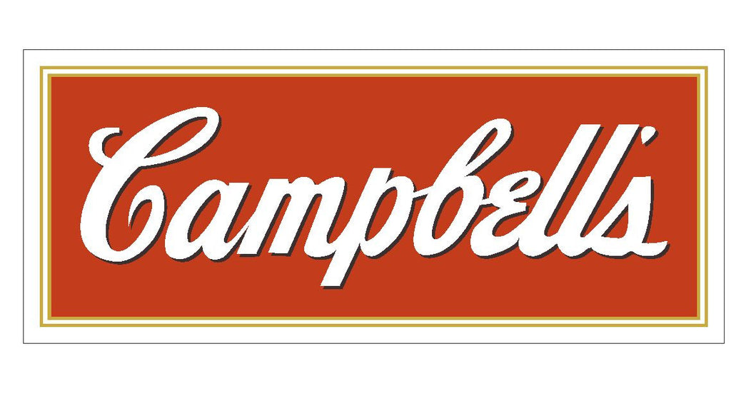 Campbells Soup Vinyl Sticker R498 - Winter Park Products
