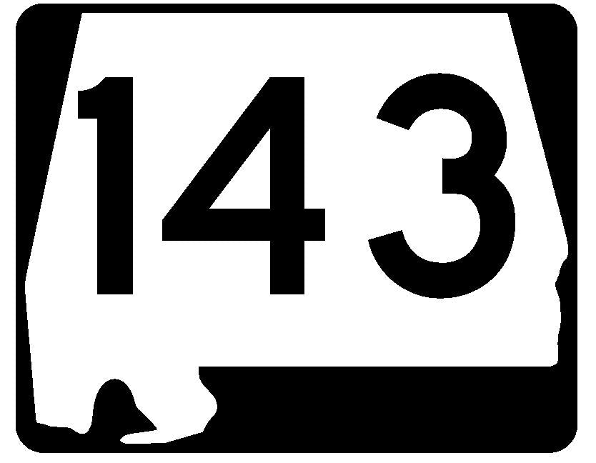 Georgia State Route 36 Sticker R3584 Highway Sign
