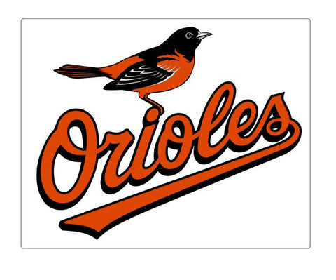 Baltimore Orioles Sticker Decal S52