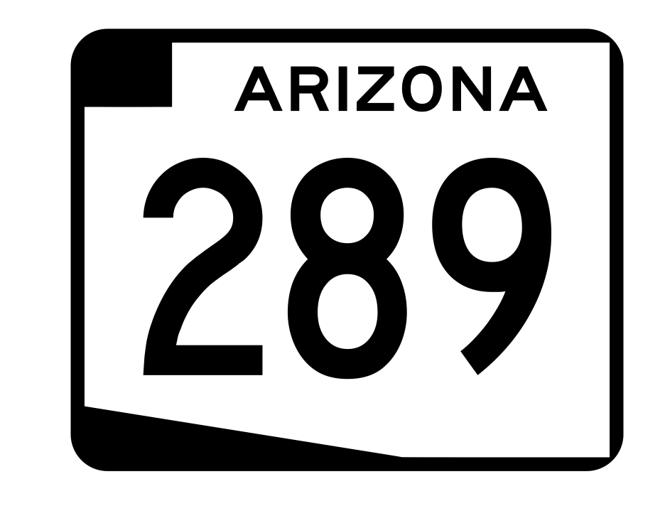 Arizona State Route 289 Sticker R2759 Highway Sign Road Sign