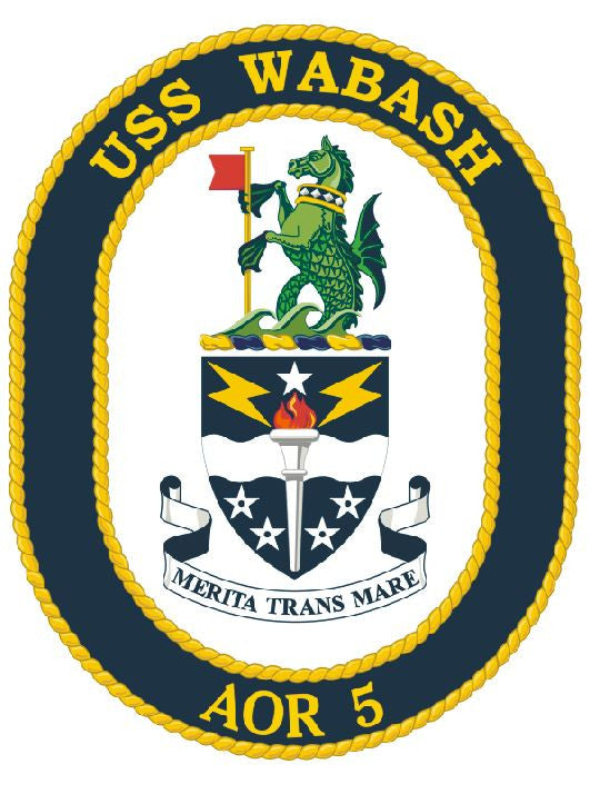 USS Wabash Sticker Military Armed Forces Navy Decal M170 - Winter Park Products