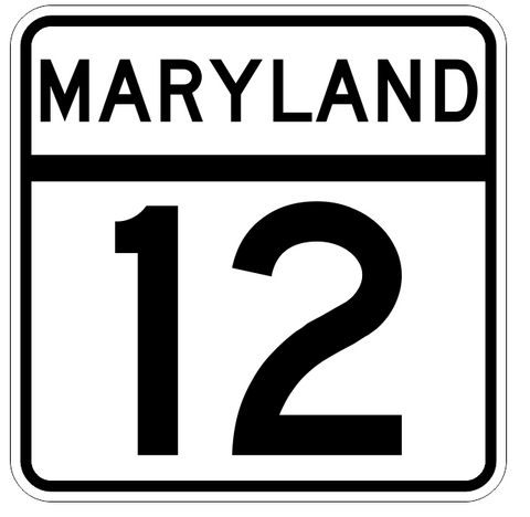 Maryland State Highway 23 Sticker Decal R2682 Highway Sign