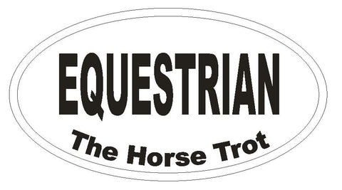 Pack of 100 Equestrian EURO OVAL Stickers - Winter Park Products