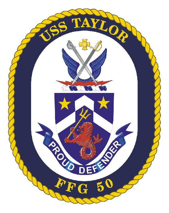USS Taylor Sticker Military Armed Forces Decal M162 - Winter Park Products