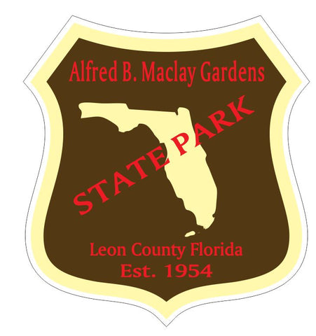 Alfred B Maclay Gardens State Park Sticker R3335 Florida