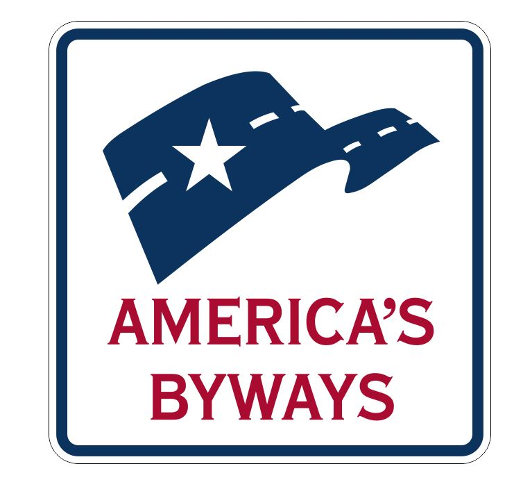 America's Byways Sticker R3376 Highway Sign