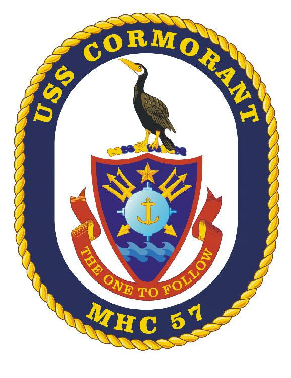USS Cormorant Sticker Military Armed Forces Decal M157 - Winter Park Products