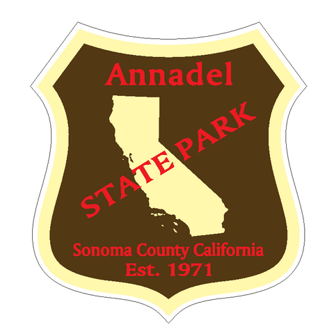 Annadel State Park Sticker R6634 California