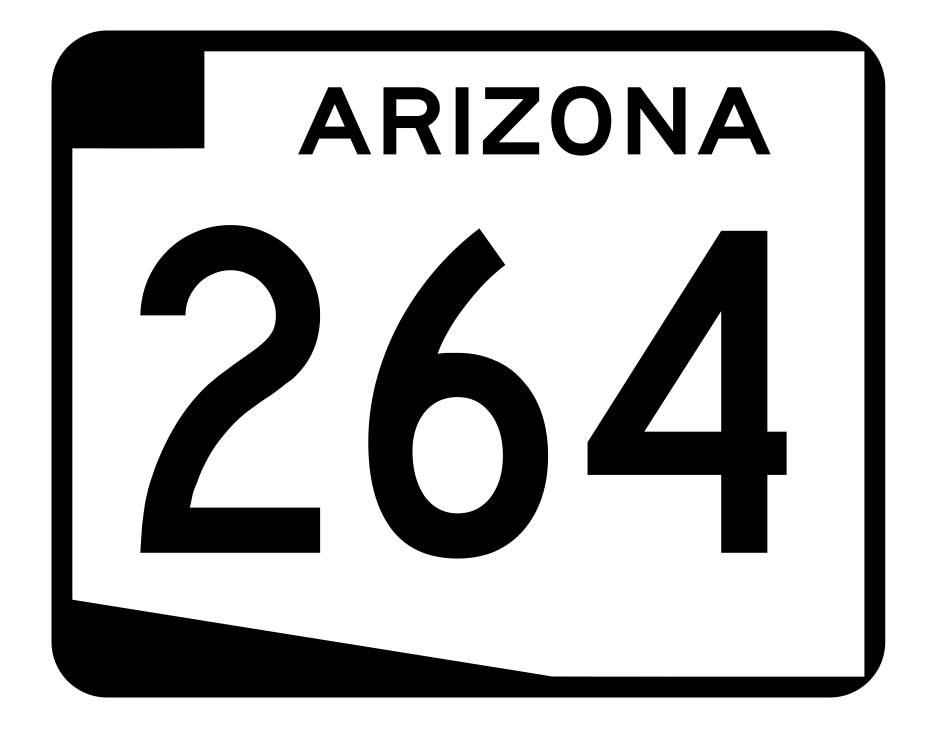 Arizona State Route 264 Sticker R2752 Highway Sign Road Sign
