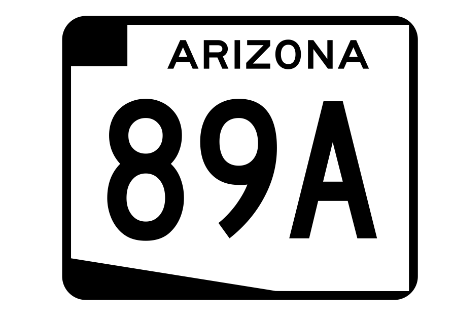 Arizona State Route 89A Sticker R2727 Highway Sign Road Sign