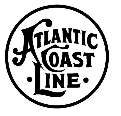 Atlantic Coast Line Railroad Sticker R3365