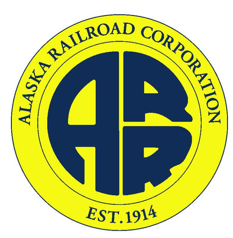 Alaska Railroad Sticker R3364