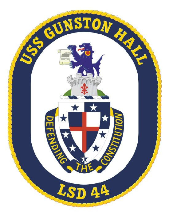 USS Gunston Hall Sticker Military Armed Forces Decal M160 - Winter Park Products