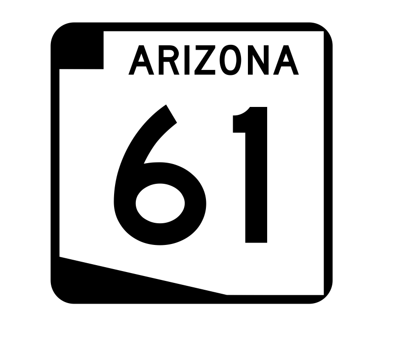 Arizona State Route 61 Sticker R2704 Highway Sign Road Sign