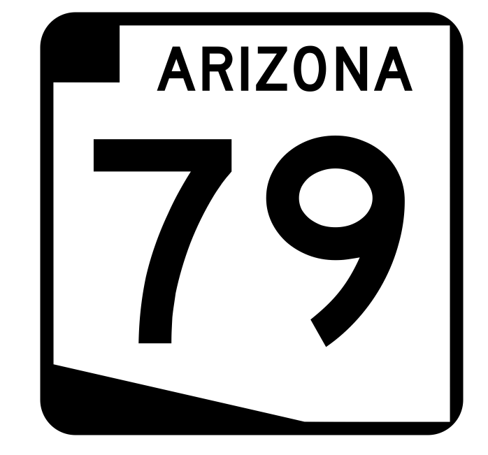 Arizona State Route 79 Sticker R2717 Highway Sign Road Sign