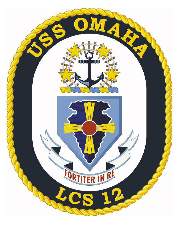 USS Omaha Sticker Military Armed Forces Navy Decal M180 - Winter Park Products