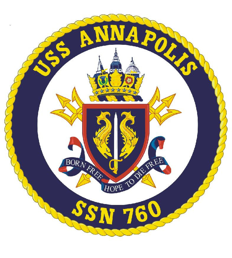 USS Annapolis Sticker Military Armed Forces Navy Decal M213 - Winter Park Products