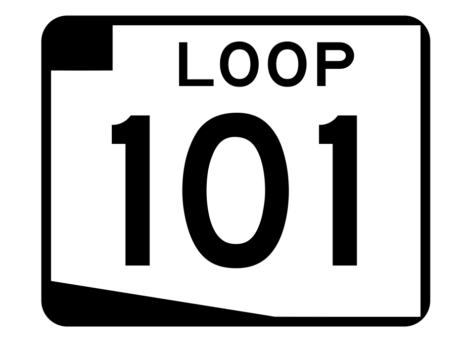 Arizona State Route 101 Sticker R2735 Highway Sign Road Sign