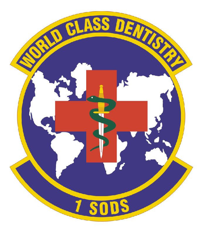 1ST SPECIAL OPERATIONS DENTAL SQUADRON Sticker /  Decal M313 - Winter Park Products