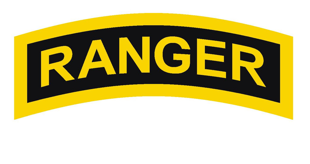 Army Ranger Vinyl Sticker R295 - Winter Park Products