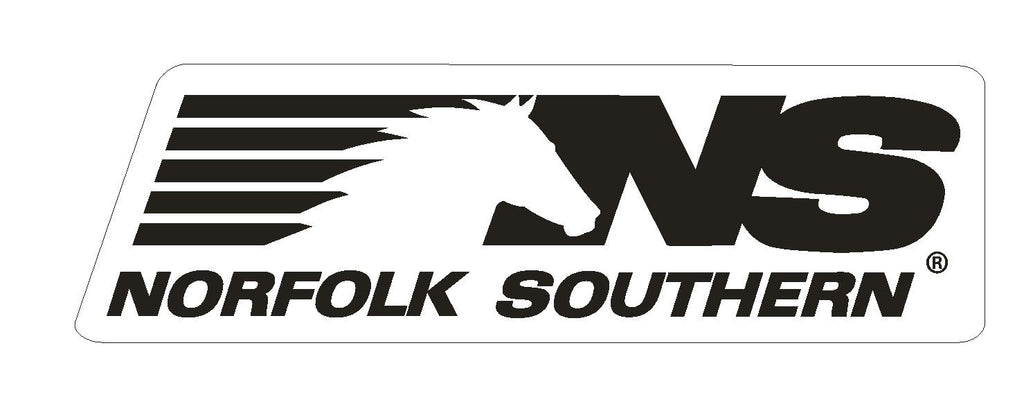Norfolk Southern Railroad Vinyl Sticker R196 - Winter Park Products
