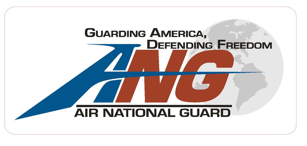 Air National Guard Vinyl Sticker R448 - Winter Park Products